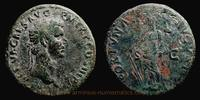 As 97 AD. Roman Empire Nerva, Rome mint, As, RIC 83.  ss  119,00 EUR