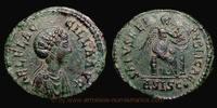 Æ2 383-384 AD. Roman Empire Aelia Flacilla, Siscia mint, Æ2, RIC 34. vz  489,00 EUR  +  10,00 EUR shipping
