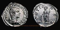 Denarius 207 AD. Roman Empire Geta Caesar, Rome mint, Denarius, RIC 34b... 119,00 EUR