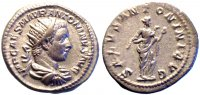 Rmisches Reich Antoninian 218-219 AD. gVF...