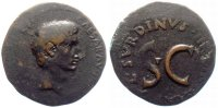 Römisches Reich As   15 BC. F-VF Augustus Rome mint As RIC 386 53,00 EUR