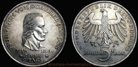 5 Deutsche Mark 1955 Federal Republic of Germany Germany, Federal Repub... 189,00 EUR144,00 EUR  +  7,00 EUR shipping