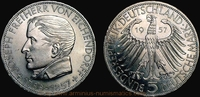 5 Deutsche Mark 1957 Federal Republic of Germany Germany, Federal Repub... 189,00 EUR144,00 EUR  +  7,00 EUR shipping