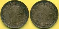1 Cent 1894 Kanada  vz+  19,00 EUR  +  3,00 EUR shipping