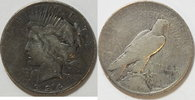 1 $ 1934 S USA Peace $ 1921 - 1935 s  65,00 EUR incl. VAT., +  8,00 EUR shipping