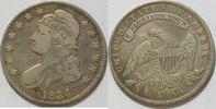 USA 50 Cent 1834 ss   105,00 EUR incl. VAT.,  +  shipping