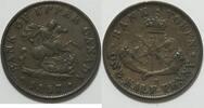 1/2 Penny Banktoken 1857 Kanada  ss  19,00 EUR incl. VAT.,  +  8,00 EUR shipping