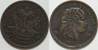 2 Cent 1881 Haiti  ss  10,00 EUR incl. VAT.,  +  6,00 EUR shipping