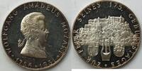 Silbermed. 1931 Österreich Wolfgang Amadeus Mozart vz-st  35,00 EUR incl. VAT., +  8,00 EUR shipping