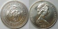 1 Crown 1980 Insel Man  unc Silber  37,00 EUR incl. VAT., +  8,00 EUR shipping