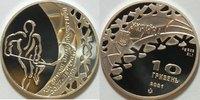 10 Hryven 2001 Ukraine Olympischen Spiele 2002 in Salt Lake City / Eish... 52,00 EUR incl. VAT., +  8,00 EUR shipping