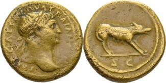Quadrans 98-117 n.Ch Italien/Rom Traian 98...