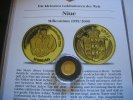 Niue 10 Dollars 1999 Proof Millenium  1/25 Unze Gold  59,00 EUR