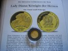 1000 Dobras 1997 St.Thome Lady Diana  1/25 Unze Gold  Proof  59,00 EUR  +  6,00 EUR shipping