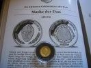 10 Dollars 2000 Liberia Maske der Dan 1/25 Unze Gold  Proof  59,00 EUR  +  6,00 EUR shipping