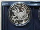 Cayman Islands One Dollar 1995 Proof Endangered Wildlife Echse 31,95 EUR