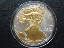 1 Dollar 2011 USA 1 Dollar Silver Eagle 2011 Gilded BU gilded  39,95 EUR  +  4,95 EUR shipping