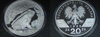 20 Zlotych 1998 Polen Ropucha Paskowka Kröte Proof  79,00 EUR  +  6,00 EUR shipping