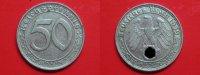 50 Reichspfennig 1939 D III.Reich 50 Rpf. Nickel ss-vz  44,95 EUR  +  4,95 EUR shipping