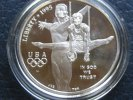 1 Dollar 1996 USA Olympia Atlanta 1 Dollar Seilturner PP Proof  34,50 EUR  +  4,95 EUR shipping