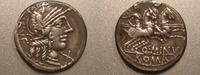 Denar  Römische Republik Rom Denar Rufus ss RF  59,00 EUR  +  6,00 EUR shipping