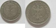 50 Reichspfennig 1936 J Weimarer Republik 50 Pfennig 1936 J ss  39,95 EUR  +  4,95 EUR shipping