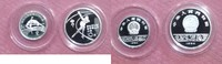 China 5 + 10 yuan 1984 Proof China 5 + 10 Yuan 1984 Olympia Silber Proof 99,95 EUR  +  6,00 EUR shipping