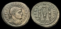ROMAN IMPERIAL  LT-KUBT - CONSTANTINE I (the Great) AE Follis, ca.312-3AD, ca.23mm, ca.4.6g.