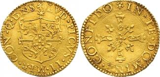 Scudo d oro del sole Gold 1550-1568 Italie...