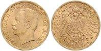 20 Mark Gold 1914  G Baden Friedrich II. 1907-1918. Vorzüglich +  465,00 EUR  +  7,00 EUR shipping