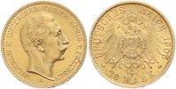 20 Mark Gold 1905  A Preußen Wilhelm II. 1888-1918. Winziger Randfehler... 325,00 EUR