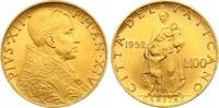 100 Lire Gold 1952 Italien-Kirchenstaat Pio XII. 1939-1958. Fast Stempe... 825,00 EUR  +  7,00 EUR shipping