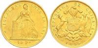 10 Pesos Gold 1859 Chile Republik. Seit 1818. Fast vorzüglich  725,00 EUR  +  7,00 EUR shipping