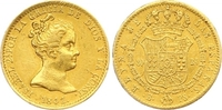 80 Reales Gold 1841  B Spanien Isabel II. 1833-1868. Winziger Randfehle... 285,00 EUR  +  7,00 EUR shipping