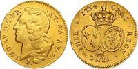 Doppelter Louis d'or au bandeau de Béarn 1 Gold 1754 Frankreich Ludwig ... 1450,00 EUR free shipping