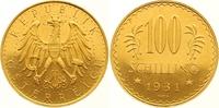 100 Schilling Gold 1931 Österreich Erste Republik 1918-1938. Winzige Kr... 1100,00 EUR free shipping