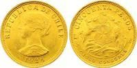 50 Pesos Gold 1926 Chile Republik. Seit 1818. Winziger Randfehler, vorz... 400,00 EUR  +  7,00 EUR shipping
