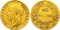 40 Francs Gold AN 13 A Frankreich Napoleon I. 1804-1814, 1815. Sehr sch... 500,00 EUR  +  7,00 EUR shipping