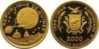 2000 Francs Gold 1969 Guinea Republik ab 1958. Fast Stempelglanz  300,00 EUR  +  7,00 EUR shipping