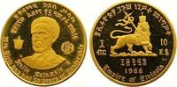 10 Dollars Gold 1966 Äthiopien Haile Selassi I. 1930-1936, 1941-1974. P... 165,00 EUR  +  7,00 EUR shipping