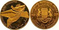 500 Shillings Gold 1970 Somalia Republik. Ab 1950. Winziger Kratzer, St... 2850,00 EUR free shipping
