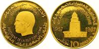 10 Dinars Gold 1967 Tunesien Republik seit 1957. Polierte Platte  750,00 EUR  +  7,00 EUR shipping