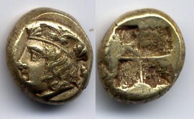 Ionia / Ionien Phokaia EL Hekte 360-340 BC Very Fine-Extremely Fine / Sehr schön-vorz