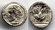 Hemiobol 450-420 BC Thrace / Thrakien Trieros - Apollo & branch Extreme... 350,00 EUR  +  12,00 EUR shipping