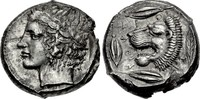 Sicilly / Sizilien Tetradrachm / Tetradrachmon Leontini