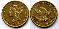 USA 10 dollar 1854 good Very Fine / gutes sehr schön Liberty without / o... 1050,00 EUR +  15,00 EUR shipping
