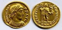 Roman Empire / Rmische Kaiserzeit Solidus Valens 364-378
