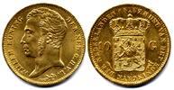 10 Gulden 1837 Netherlands / Niederlande  ...