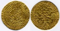 Great Britain / Grossbritanien gold Noble Henry V 1413-1422