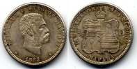 Hawaii 1/4 dollar / 25 cents 1883 MS62 / vzgl Kalakaua I 220,00 EUR +  10,00 EUR shipping